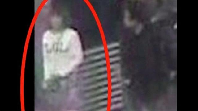 FILE PHOTO: A woman who was detained at Kuala Lumpur airport, identified from CCTV footage at the airport and who was alone when she was apprehended, according to police in a statement, is seen circled in red in this still frame taken from video released February 16, 2017, showing CCTV footage courtesy of Star TV. MANDATORY CREDIT STAR TV Via REUTERS TV/File Photo