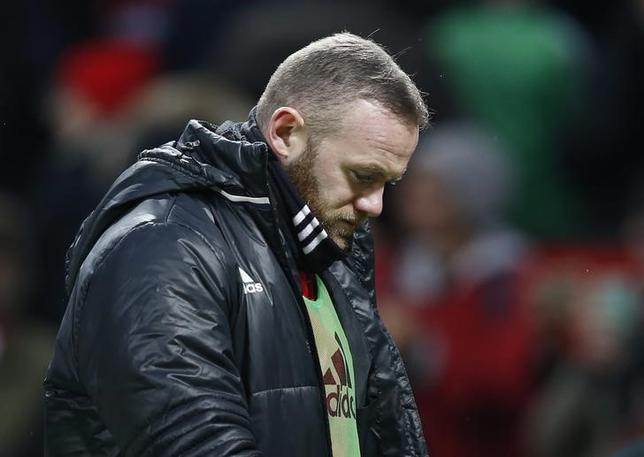 Britain Soccer Football - Manchester United v Watford - Premier League - Old Trafford - 11/2/17 Manchester United's Wayne Rooney walks off after the game  Reuters / Andrew Yates Livepic