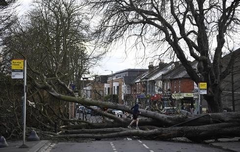 Storm Doris slams Britain