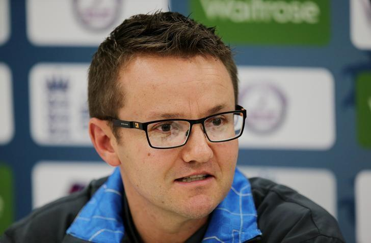 Cricket - New Zealand Press Conference - Lord's - 6/5/15New Zealand Head Coach Mike Hesson talks to the media during a press conferenceAction Images via Reuters / Paul ChildsLivepic/File Photo