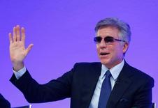 SAP SE CEO Bill McDermott attends the company's annual results press conference in Walldorf, Germany, January 24, 2017.     REUTERS/Ralph Orlowski