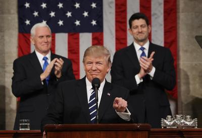Trump addresses Congress
