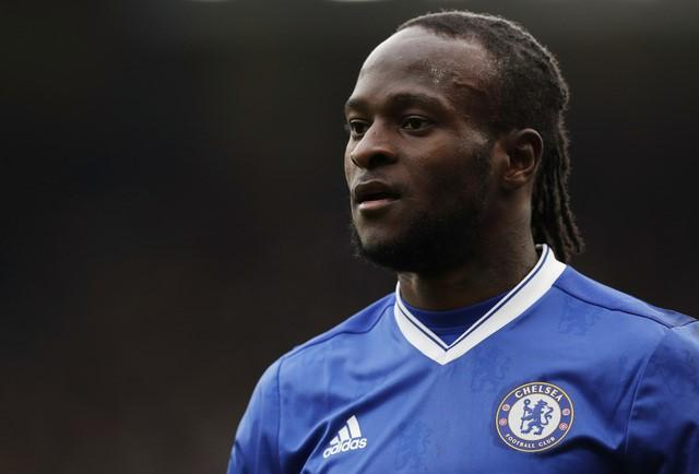 Britain Football Soccer - Chelsea v Arsenal - Premier League - Stamford Bridge - 16/17 - 4/2/17 Chelsea's Victor Moses Action Images via Reuters / John Sibley