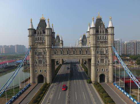 China's knock-off landmarks