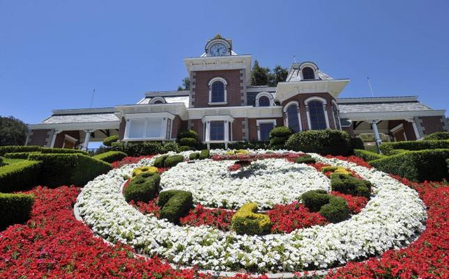 File Photo: A general view of the train station at Michael Jackson's Neverland Ranch in Los Olivos, California July 3, 2009. REUTERS/Phil Klein