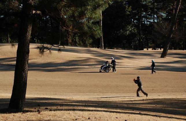 3月2日、国際オリンピック委員会(IOC)のジョン・コーツ副会長は、2020年東京大会のゴルフ会場となっている霞ケ関CC(写真)が女性会員に男性会員と同等の権利を認めていない問題に関し、6月までに解決するとの見解を示した。1月撮影(2017年 ロイター/Oh Hyun)