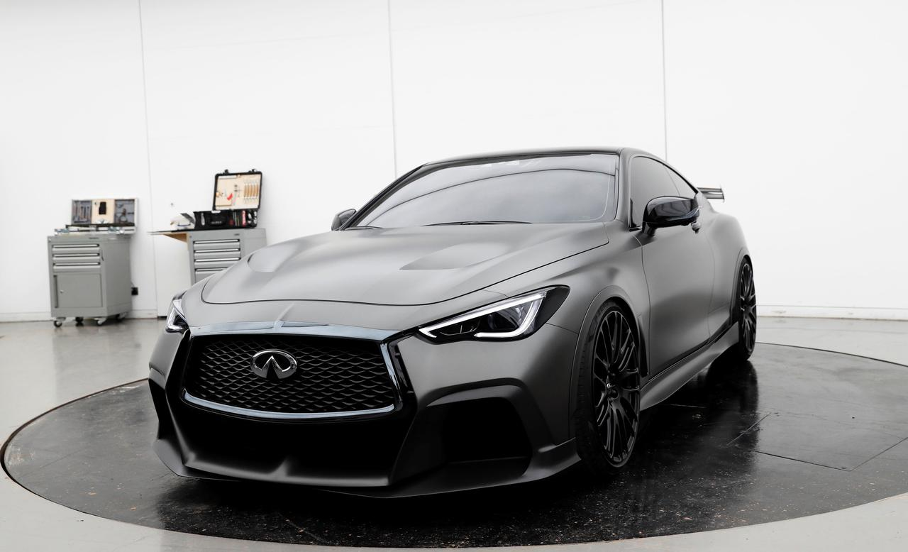 Infiniti Hints At F1 Inspired High Performance Car