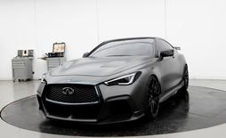 An Infiniti Project Black S is displayed at Nissan Design Europe, ahead of being shipped to the Geneva Motor Show, in London, Britain, February 28, 2017.   REUTERS/Stefan Wermuth
