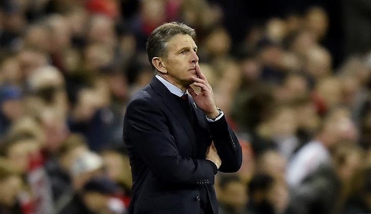 Britain Soccer Football - Southampton v Manchester United - EFL Cup Final - Wembley Stadium - 26/2/17 Southampton manager Claude Puel  Reuters / Hannah McKay Livepic/Files