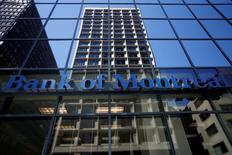 A Bank of Montreal (BMO) sign is seen outside of a branch in Ottawa, Ontario, Canada, August 23, 2016. REUTERS/Chris Wattie
