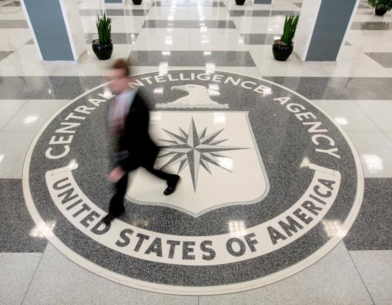 The lobby of the CIA Headquarters Building is pictured in Langley, Virginia, U.S. on August 14, 2008. REUTERS/Larry Downing/Files
