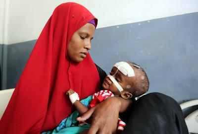 Drought-hit Somalia faces famine