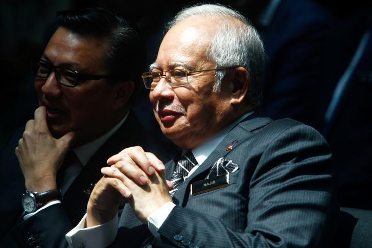 Malaysia's Prime Minister Najib Razak attends an event in Kuala Lumpur, Malaysia March 8, 2017. REUTERS/Alexandra Radu/Files