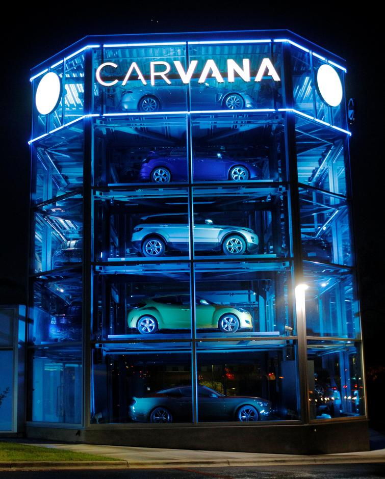 Exclusive Car Vending Machine Firm Carvana Hires Banks For Ipo