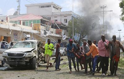 Car bomb explodes in Mogadishu