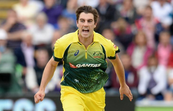 Cricket - England v Australia - NatWest International T20 - SSE SWALEC Stadium, Cardiff, Wales - 31/8/15Australia's Pat Cummins reactsReuters / Philip BrownLivepic