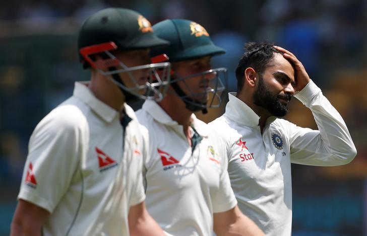 Cricket - India v Australia - Second Test cricket match - M Chinnaswamy Stadium, Bengaluru - 05/03/17. REUTERS/Danish Siddiqui/Files