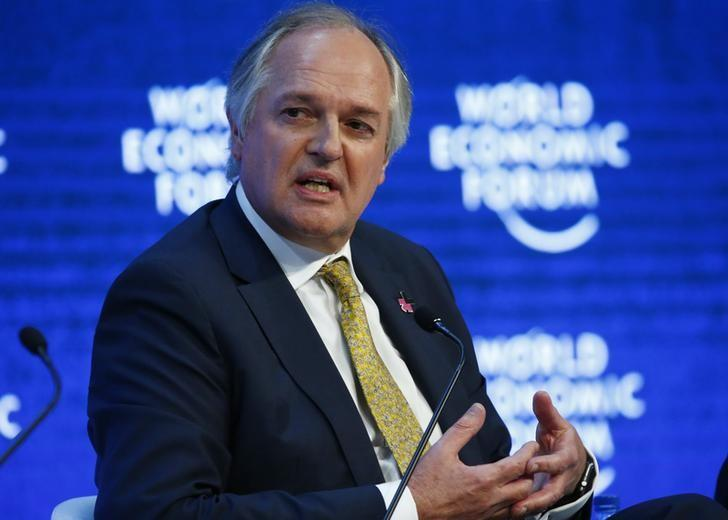 Paul Polman, Chief Executive Officer of Unilever  in Davos, Switzerland January 21, 2016. REUTERS/Ruben Sprich