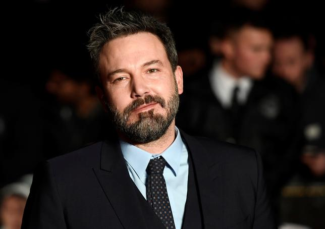 FILE PHOTO: Ben Affleck arrives at the European Premiere of Live by Night at the British Film Institute in London, Britain January 11, 2017. REUTER/Dylan Martinez/File Photo