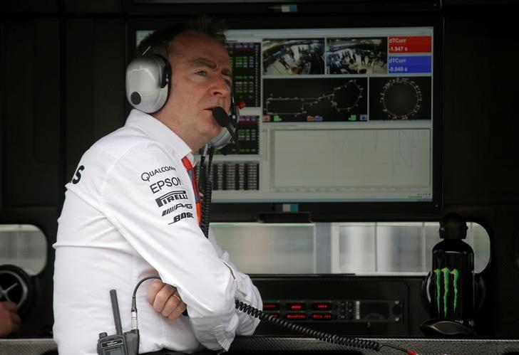 Formula One - Grand Prix of Europe - Baku, Azerbaijan - 17/6/16 - Mercedes AMG Formula One technical chief Paddy Lowe looks on during the first practice session. REUTERS/Maxim Shemetov