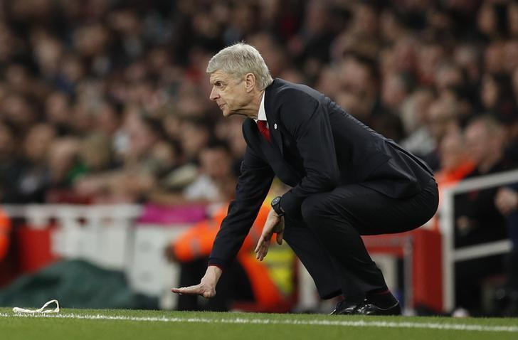 Britain Football Soccer - Arsenal v Lincoln City - FA Cup Quarter Final - The Emirates Stadium - 11/3/17 Arsenal manager Arsene Wenger  Action Images via Reuters / John Sibley Livepic