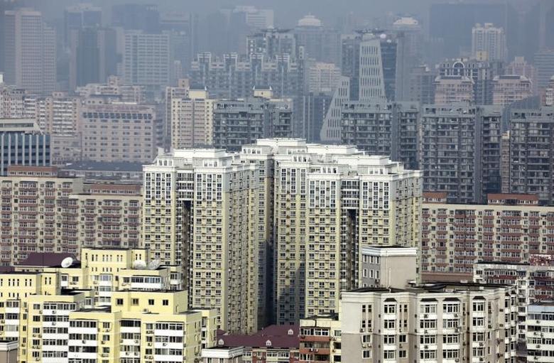 资料图片:2015年1月拍摄的北京住宅区。REUTERS/Jason Lee