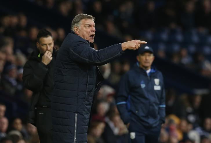 Britain Soccer Football - West Bromwich Albion v Crystal Palace - Premier League - The Hawthorns - 4/3/17 Crystal Palace manager Sam Allardyce  Action Images via Reuters / Andrew Boyers