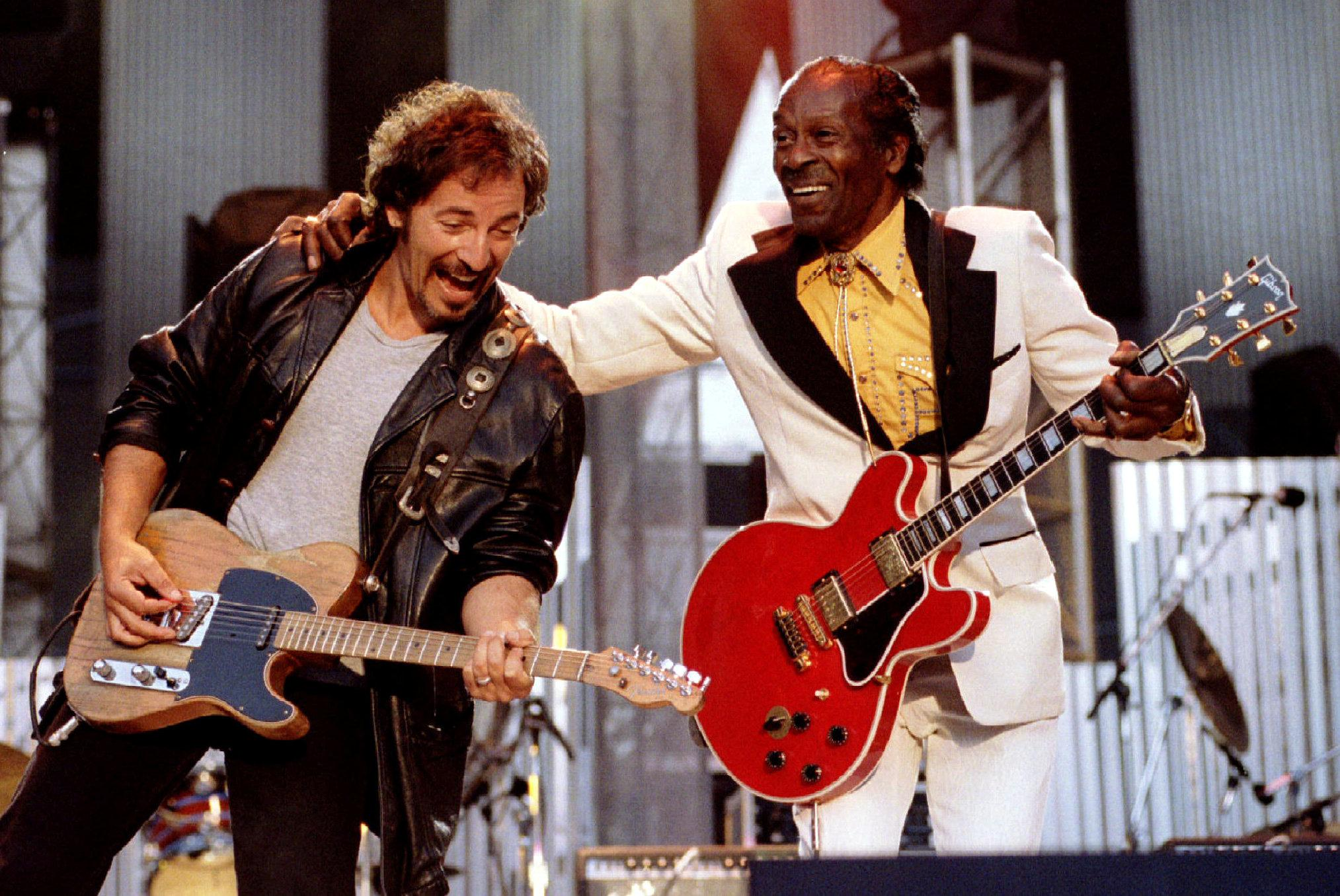 Factbox Famous Musicians On Chuck Berry Rock N Roll Master Reuters