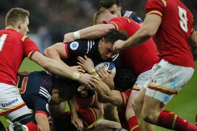 Rugby Union - Six Nations Championship - France v Wales - Stade de France, Saint-Denis near Paris, France - 18/03/2017 - France's Camille Chat in action.  REUTERS/Benoit Tessier