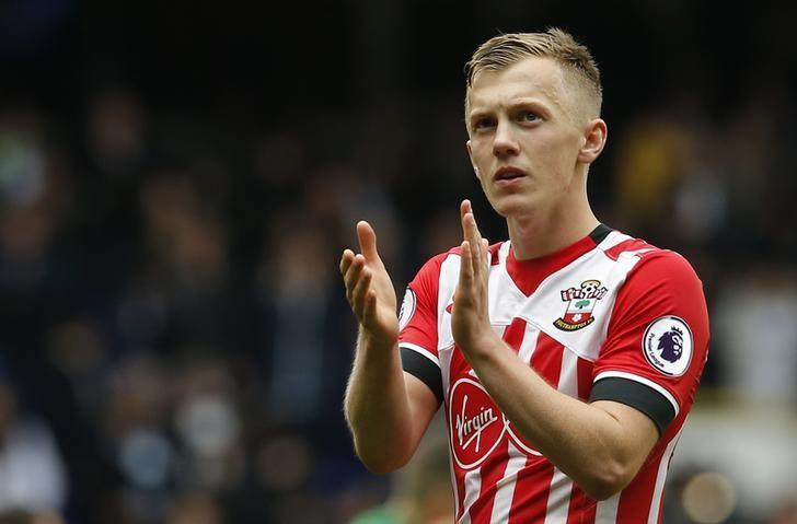 Britain Soccer Football - Tottenham Hotspur v Southampton - Premier League - White Hart Lane - 19/3/17 Southampton's James Ward-Prowse applauds fans after the game  Action Images via Reuters / Andrew Couldridge Livepic/Files