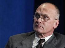 "File photo: Andrew Puzder takes part in a panel discussion titled ""Understanding the Post-Recession Consumer"" at the Milken Institute Global Conference in Beverly Hills, California  April 30, 2012.  REUTERS/Fred Prouser"