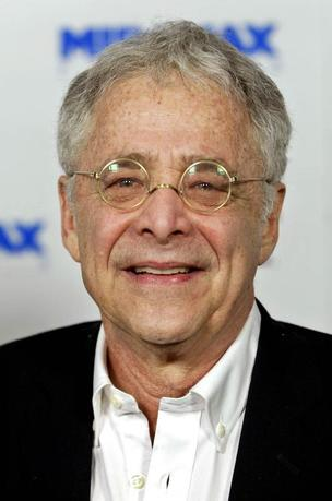 Chuck Barris is shown in this December, 2002 file photograph during the premiere of ''Confessions of a Dangerous Mind'' in Los Angeles. REUTERS/File Photo