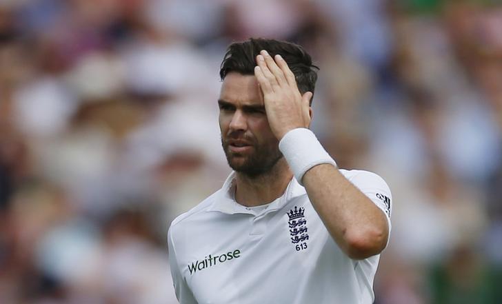 Britain Cricket - England v Pakistan - Third Test - Edgbaston - 5/8/16England's James AndersonAction Images via Reuters / Paul ChildsLivepic/Files