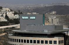 A building belonging to Teva Pharmaceutical Industries, the world's biggest generic drugmaker and Israel's largest company, is seen in Jerusalem February 8, 2017. REUTERS/Ronen Zvulun