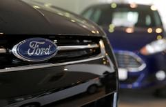 FILE PHOTO:  Ford cars are seen on sale at a dealership of Genser company in Moscow, Russia, February 14, 2017.   REUTERS/Maxim Shemetov/File Photo
