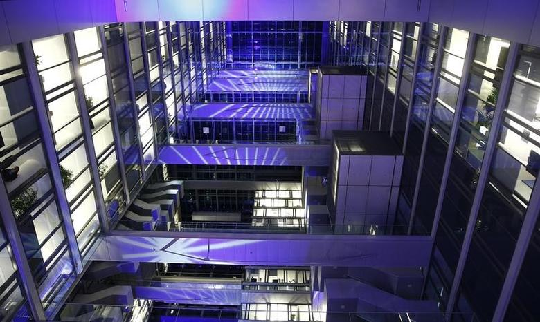 Picture shows the inside of the new Deutsche Boerse Group headquarters in Eschborn, outside Frankfurt, Germany, January 25, 2016.     REUTERS/Kai Pfaffenbach