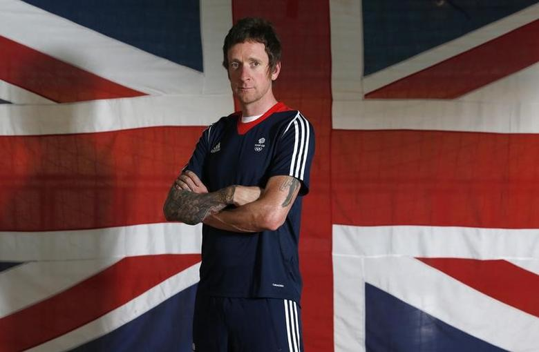 Britain Cycling - Team GB - Rio 2016 Cycling Team Announcement - The National Cycling Centre, Sportcity, Manchester - 24/6/16Great Britain's Sir Bradley Wiggins posesAction Images via Reuters / Ed SykesLivepic