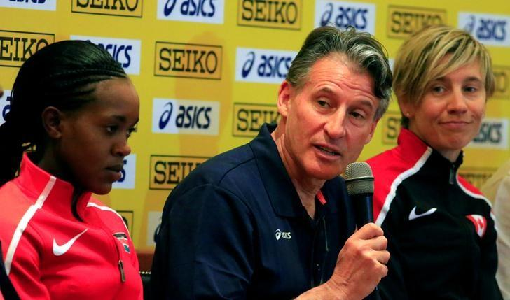 Athletics - IAAF World Cross Country Championships - Kololo Independence Grounds, Kampala, Uganda - 25/03/17 - IAAF President Sebastian Coe holds a press conference ahead of the World Cross Country championship. REUTERS/James Akena