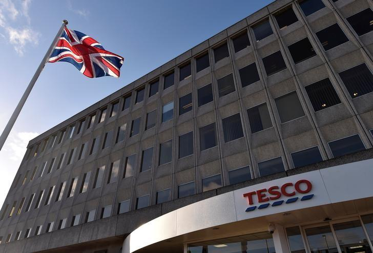 The head office of Tesco is seen in Cheshunt, Britain, January 8, 2015.    REUTERS/Toby Melville/Files