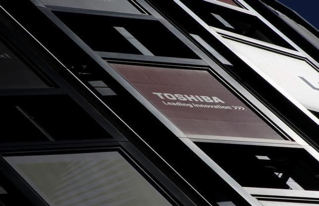 3月28日、米政府当局者は東芝傘下の米原発子会社ウエスチングハウス(WH)の破産の可能性はトランプ政権にとり「懸念」であり、国家安全保障上の問題となる可能性があると述べた。都内で先月24日撮影(2017年 ロイター/Toru Hanai)