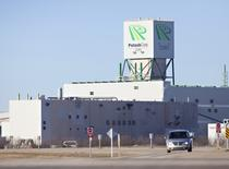 The Cory Potash Corp mine site west of Saskatoon is pictured on November 3, 1010. REUTERS/David Stobbe