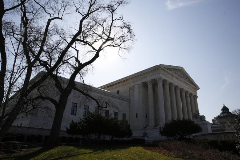 The U.S. Supreme Court building is seen in Washington, DC, U.S. on March 16, 2016.   REUTERS/Jim Bourg/File Photo
