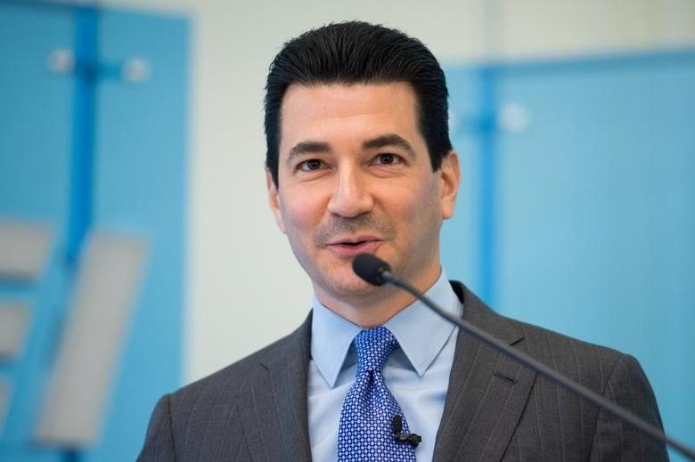 Dr. Scott Gottlieb is seen in this American Enterprise Institute photo released in Washington, DC, U.S., March 10, 2017.   Courtesy The American Enterprise Institute/Handout via REUTERS