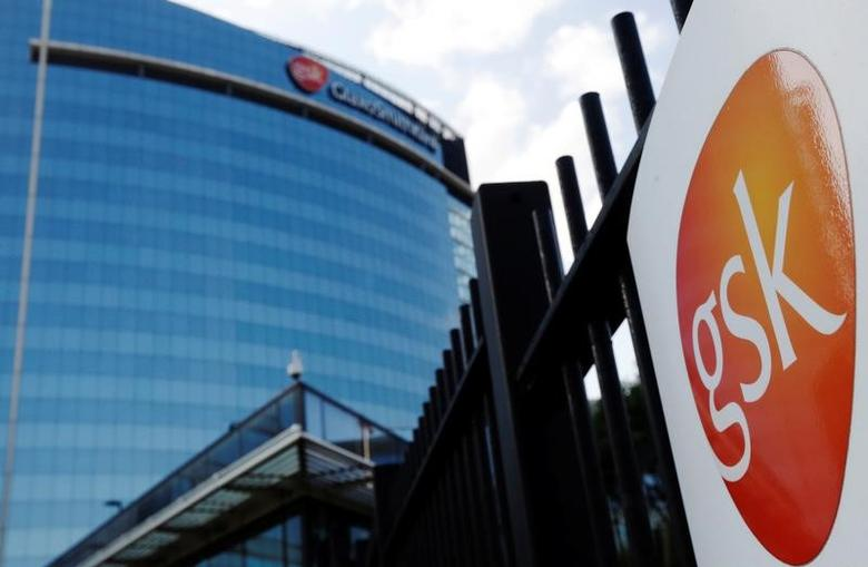 The GlaxoSmithKline building is pictured in Hounslow, west London June 18, 2013.   REUTERS/Luke MacGregor/File Photo