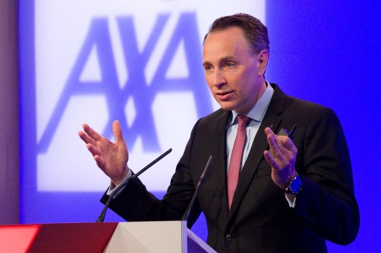 Thomas Buberl, CEO of French insurer AXA, speaks during the company's 2016 annual results presentation in Paris, France, February 23, 2017. REUTERS/Charles Platiau