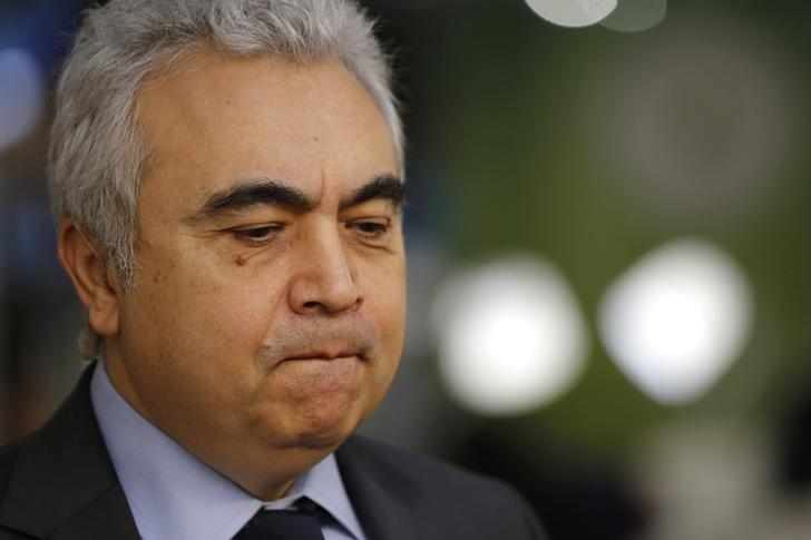 International Energy Agency's (IEA) Executive Director Fatih Birol looks on during the World Climate Change Conference 2015 (COP21) at Le Bourget, near Paris, France, December 3, 2015. REUTERS/Stephane Mahe/Files
