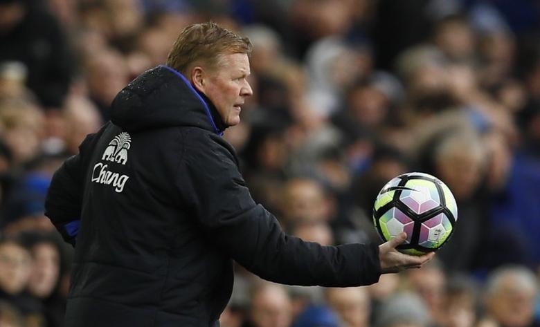 Everton v Hull City - Premier League - Goodison Park - 18/3/17 Everton manager Ronald Koeman Action Images via Reuters / Jason Cairnduff Livepic