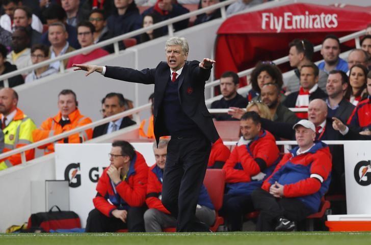 Britain Football Soccer - Arsenal v Manchester City - Premier League - Emirates Stadium - 2/4/17 Arsenal manager Arsene Wenger Reuters / Eddie Keogh Livepic