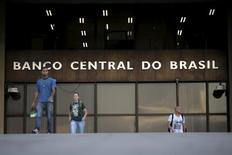 Entrada do prédio do Banco Central, em Brasília. 23/09/2015 REUTERS/Ueslei Marcelino