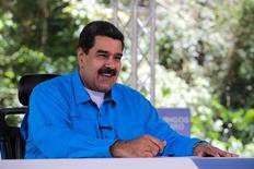 Maduro faz discurso em transmissão em Caracas  2/4/2017   Reuters/Divulgação